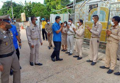 โรงเรียนบ้านตาอุด ร่วมต้อนรับผู้ว่าราชการจังหวัดศรีสะเกษ  เยี่ยมเยียนผู้ประสบเหตุอัคคีภัย
